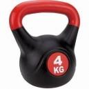 Füles súlyzó-Kettle Ball, műanyag, 16 kg
