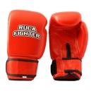 Ruca Fighter, kíváló minőségű tépőzáras marhabőr bokszkesztyű