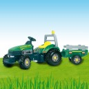 Óriás traktor SMOBY 033406