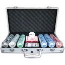 Póker szett fémbőröndben