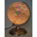 Földgömb, 25 cm antik