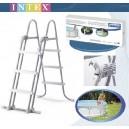 Biztonsági medence létra 91-107 cm INTEX