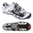 FORCE FREE MTB kerékpáros cipő fekete-fehér