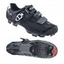 FORCE HARD MTB kerékpáros cipő fekete