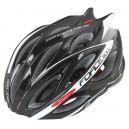 FORCE BULL kerékpáros sisak fekete-fehér S-M