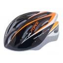FORCE HAL kerékpáros sisak fehér-narancs